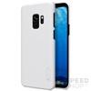 Nillkin Super Frosted hátlap tok Samsung G960 Galaxy S9, fehér + ajándék kijelzővédő fólia