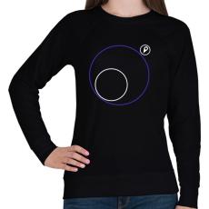 PRINTFASHION PUBG körön kívül - Női pulóver - Fekete