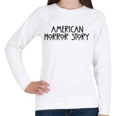 PRINTFASHION American Horror Story - Női pulóver - Fehér