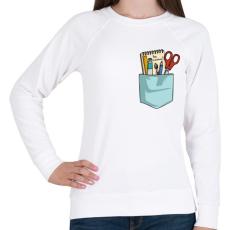 PRINTFASHION Légy különleges! - Női pulóver - Fehér