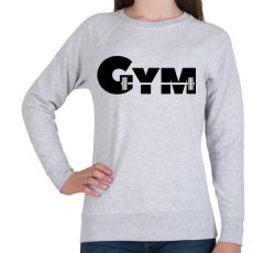 PRINTFASHION GYM - Női pulóver - Sport szürke