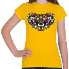 PRINTFASHION Koala - Női póló - Sárga