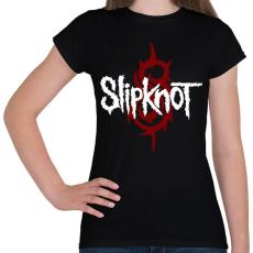 PRINTFASHION Slipknot - Női póló - Fekete