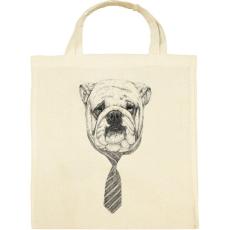 PRINTFASHION Cooldog - Vászontáska - Natúr