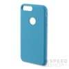 4smarts Cupertino Apple iPhone 8/7 szilikon hátlap tok, világos-kék
