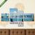 Képáruház.hu Premium Kollekció: medence és a város jelenete(125x70 cm, S02 Többrészes Vászonkép)