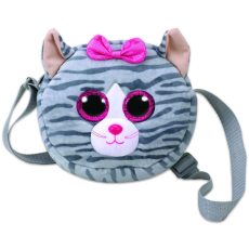 TY Inc. TY Gear: Kiki cica plüss oldaltáska - 15 cm
