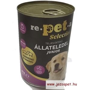 Repeta Selection Junior kutyakonzerv 415g