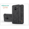 Nillkin Samsung G960F Galaxy S9 oldalra nyíló flipes tok - Nillkin Qin - fekete