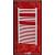 Radeco AD7-400/L D profilos íves törölközőszárítós csőradiátor (870 W, fehér, 1630x445 mm)