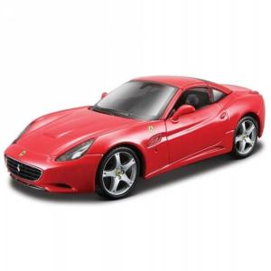 BBurago : Ferrari California fém autómodell 1/18 piros