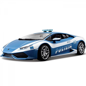BBurago : Lamborghini Huracán LP 610 rendőrségi autó 1/18