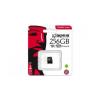 Kingston Card MICRO SD Kingston 256GB Canvas UHS-I CL10 adapter nélkül
