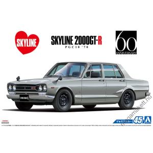 AOSHIMA - Nissan PGC10 Skyline 2000 GT-R 1970
