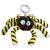 NICI : Octilla pók plüsskulcstartó - 10 cm