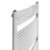Betatherm BX 50780 (780*496) íves fürdőszobai radiátor, fehér, BX Curves törölköző szárító radiátor, fürdőszobai csőradiátor, BX Curves