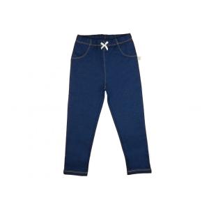 Kislány baba farmerszínű leggings 74-80