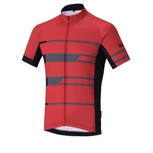 Shimano Team Short Sleeve Jersey Red M
