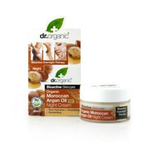 Dr. Organic Bio argán olaj Éjszakai krém 50 ml