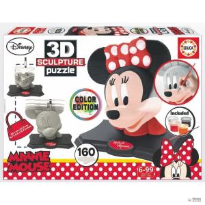 Educa Borras Puzzle 3D Minnie Disney szín Edition gyerek
