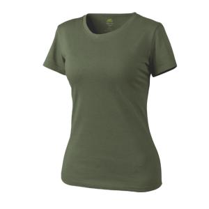 HELIKON-TEX női rövid ujjú olívzöld, 165g/m2