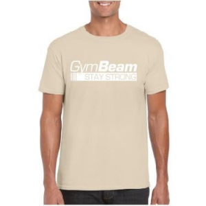 GymBeam Póló Stay Strong Sand XL