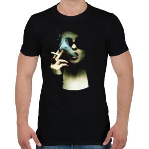PRINTFASHION Marla - Férfi póló - Fekete