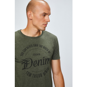 Tom Tailor Denim - T-shirt - zöld - 1336631-zöld