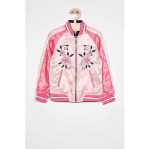 GUESS JEANS - Gyerek bomberdzseki kifordítható 113-157 cm - pasztell rózsaszín - 1386507-pasztell rózsaszín