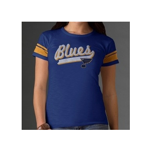 47 Brand St. Louis Blues női póló Blue Game Time - S