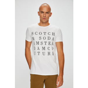 Scotch & Soda - T-shirt - fehér - 1404162-fehér
