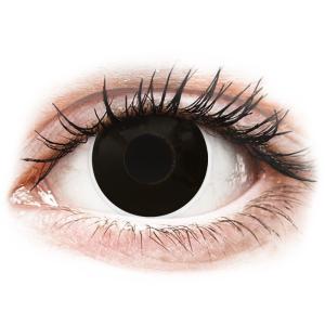 MaxVue Vision ColourVUE Crazy Lens - BlackOut - dioptriával (2 lencse)