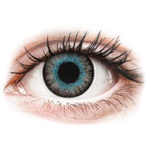 MaxVue Vision ColourVUE Fusion Blue Gray - dioptriával (2 db lencse)