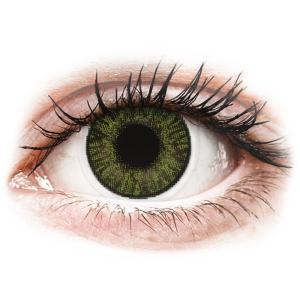 Alcon FreshLook ColorBlends Green - dioptria nélkül (2 db lencse)