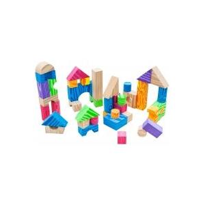 Teddies Hab kockák, színesek, puhák, 60db