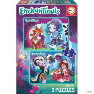 Educa Borras Puzzle Enchantimals 2x20pz gyerek