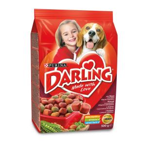 Purina Darling Dry Dog marha+zöldség 500 g