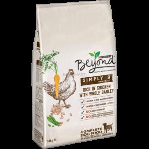 Purina Beyond Simply 9 csirkével és teljes kiőrlésű árpával 1,4 kg