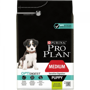 Purina Pro Plan Medium Puppy Sensitive Digestion OPTIDIGEST 3 kg