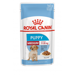 Royal Canin wet medium puppy 0,14 kg