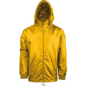 KARIBAN kapucnis széldzseki, sárga