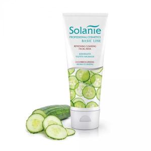 Solanie Solanie Basic bőrfrissítő tisztító arcmaszk, 125 ml