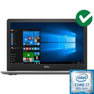 "Dell Inspiron 5370 laptop, Intel® Core™ i7-8550U akár 4.00 GHz-es processzorral, Kaby Lake R, 13.3"", Full HD, 8GB, 256GB SSD, AMD Radeon 530 2GB, Microsoft"