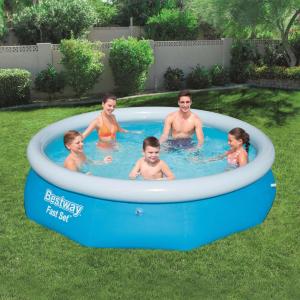 Bestway Fast Set 57266 kerek felfújható fürdőmedence 305 x 76 cm