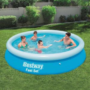 Bestway Fast Set 57273 kerek felfújható fürdőmedence 366 x 76 cm
