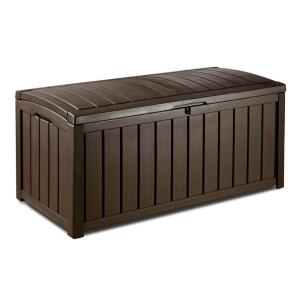 KETER Kerti tároló doboz GLENWOOD 128 x 65 x 61 cm - barna