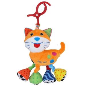 BABY MIX Vibrálós gyerek plüss játék Baby Mix cica