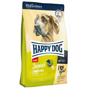 Happy Dog Giant Junior Lamb & Rice 2 x 15 kg