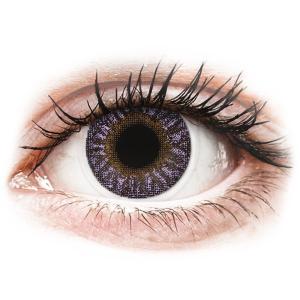 TopVue Color Violet - dioptriával (2 db lencse)