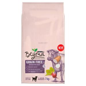 Purina BEYOND Grain free marhával gabonamentes száraz kutyaeledel 7kg
